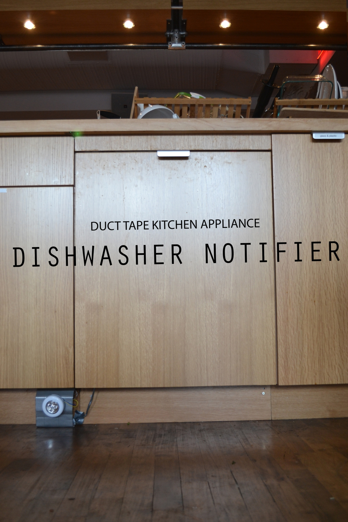 """Are the dishes clean or dirty?"" -Everyone"