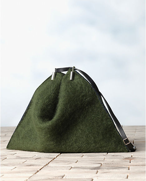 Celine-Green-Mohair-Fortune-Cookie-Shoulder-Bag-Winter-2013