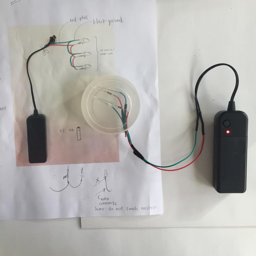 Bunny wiring process
