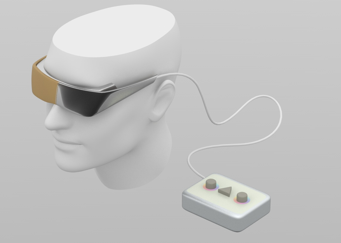 meditation / visualization glasses – see your subconscious, mold your self