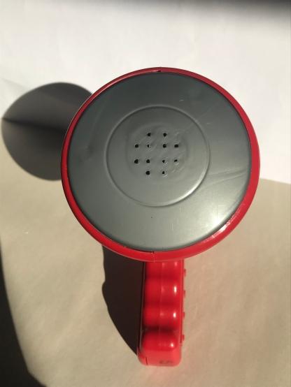 megaphone俯视图